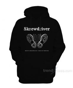 Skrewdriver Boots And Braces Voice Of Britain Hoodie