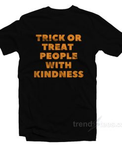 Harry Styles Trick Or Treat People With Kindness T-Shirt
