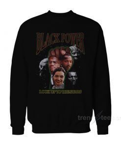 Black Power Look Up To The Stars Sweatshirt