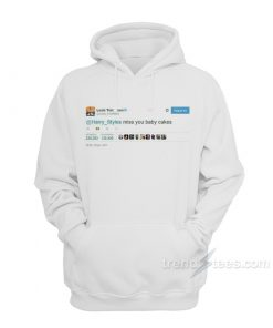 Louis Tomlinson Tweet Miss Harry Styles Hoodie