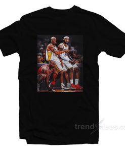 Michael Jordan Kobe Bryant Lebron James T-Shirt